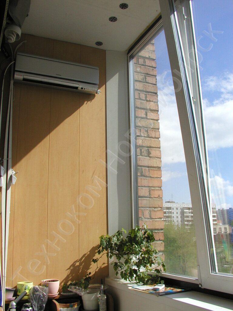 Остекление лоджий и балконов - купить в новосибирске - техно.